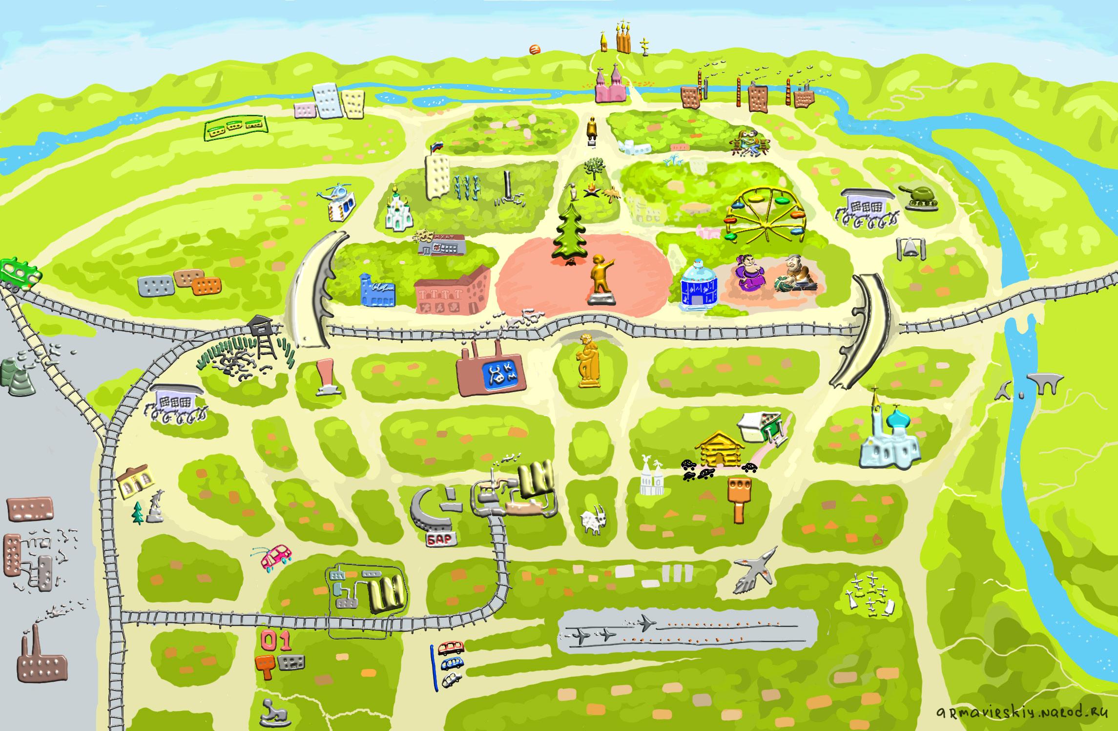 География для малышей: 2 игры с картой мира своими руками